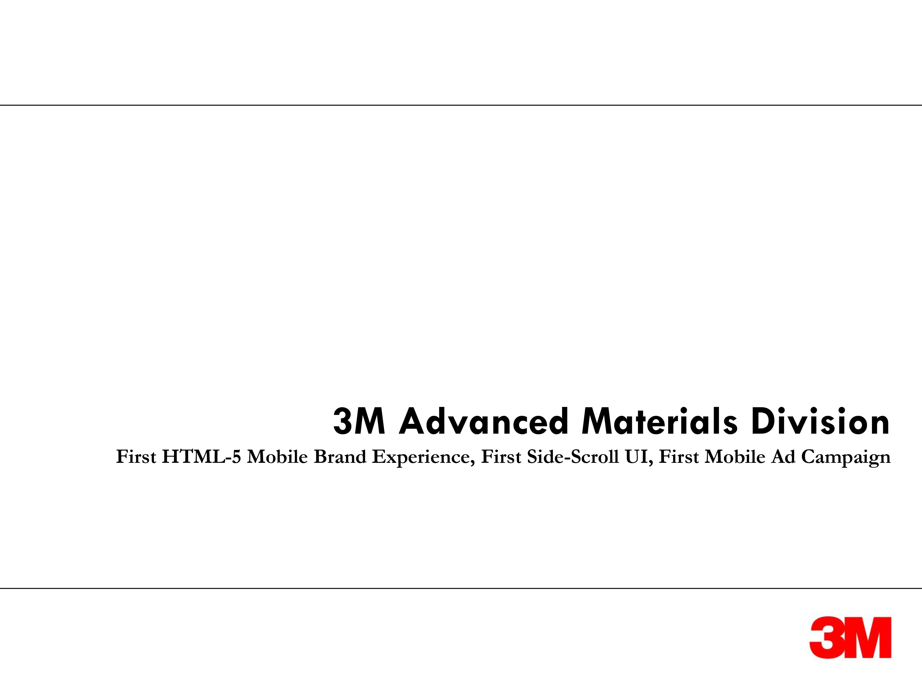 Advanced Material division cover